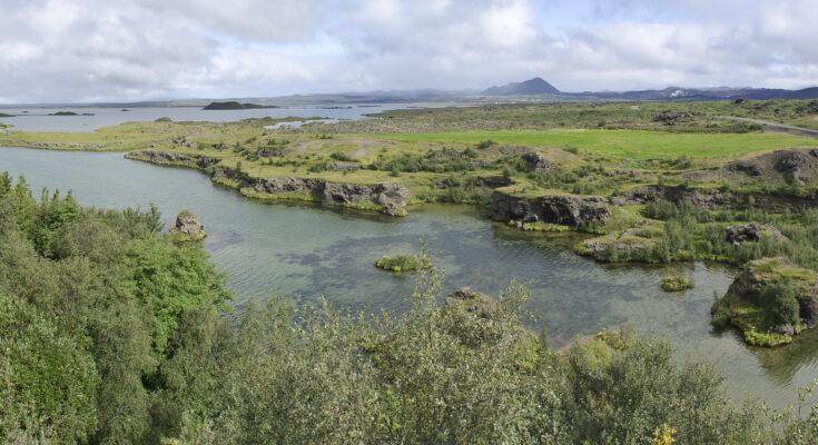 Lake Mývatn near Húsavík